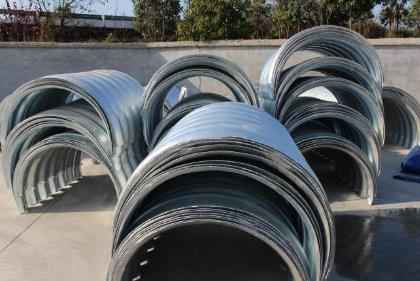 增强螺旋波纹管聚乙烯钢波纹管材