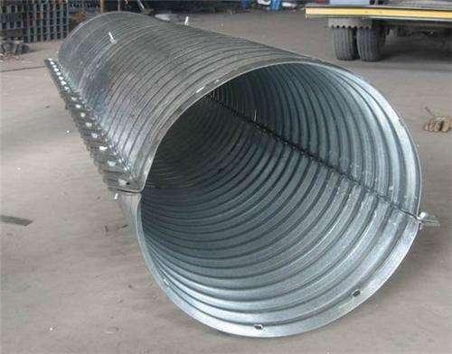 不锈钢波纹管涵 大直径波纹管