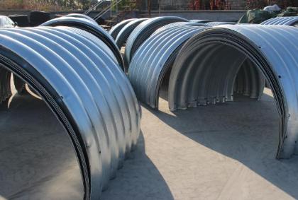 钢波纹涵管是怎样快速完成安装的?